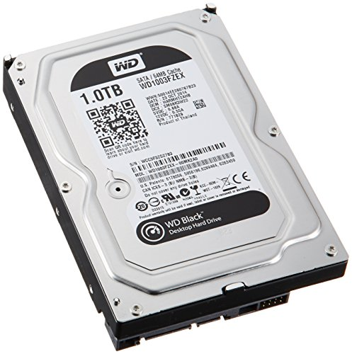Western Digital WD1003FZEX interne Festplatte 1TB (8,9 cm (3,5 Zoll), 7200rpm, SATA)