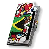 スマコレ 手帳型 全機種対応 有り レザー ケース 手帳タイプ 革 フリップ ダイアリー 二つ折り 横開き 革 iphone6plus ケース スマホケース スマホカバー nb iphone 6 plus アイフォーン クール ジャマイカ レゲエ HIPHOP 000270 APPLE APPLE softbank ソフトバンク