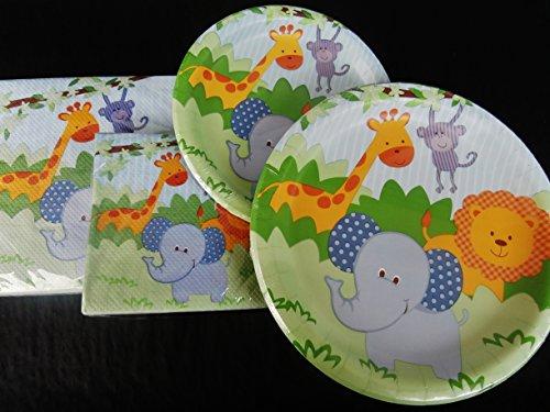 Baby Shower Birthday Party Plate Napkins Set