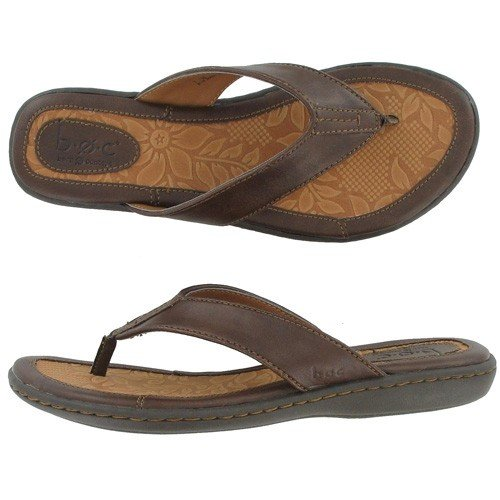 BOC by Born Women's Zita Thong Sandals, BROWN, 7 M/B