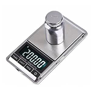 LUPO 0.1g to 1000g 1kg Maximum Mini Electronic Digital Weight Pocket Balance Jewellery Gold Postal Scales