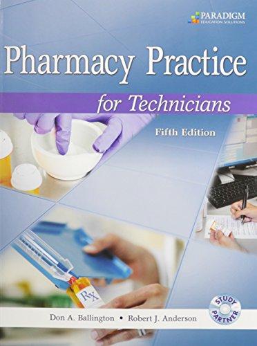 Pharmacy Technician Programs Online