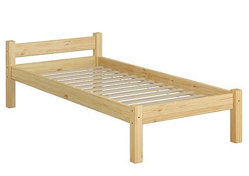 60.36-09 letto in legno di pino massiccio 90x200 cm