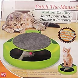 As Seen On Tv Catch The Mouse Motion Cat Toy