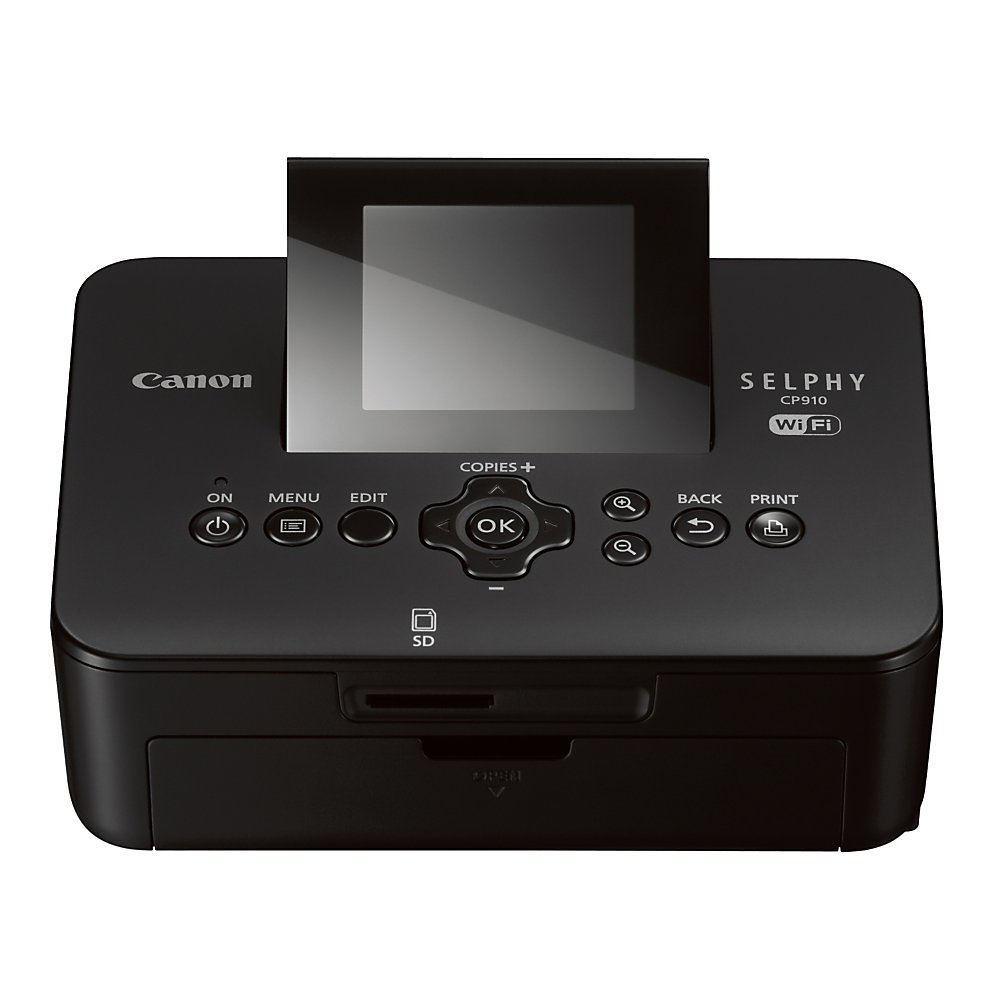 Canon Selphy CP910 Wireless Compact Color Photo Printer; Black 8426B001