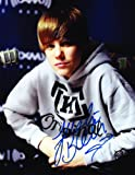 511mJPLyf%2BL. SL160 Justin Bieber Signed Autographed 8.5 x 11 Photograph, Authentic with COA