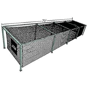 ATEC Free-Standing Batting Cage Net (Professional #36, 70 Feet) by Atec