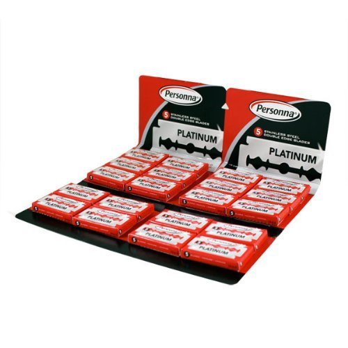 Personna Stainless Steel Double Edge Blades - 100 Pack 100 razor blades (Personna Blades Double Edge compare prices)
