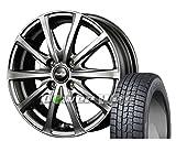 [155/70R13]DUNLOP / WINTER MAXX 02 スタッドレス [2/-][MANARAY SPORT / EuroSpeed V25 (MGL) 13インチ] スタッドレス&ホイール4本セット エブリィワゴン(DA17W)