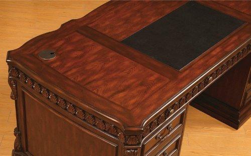 Coaster Fine Furniture 800800 Executive Desk With Computer Storage