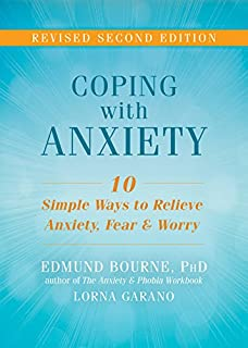 Book Cover: Coping with Anxiety: Ten Simple Ways to Relieve Anxiety, Fear, and Worry