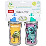 Playtex 2 Count Insulator Spout Cup, Monsters, 9 Ounce