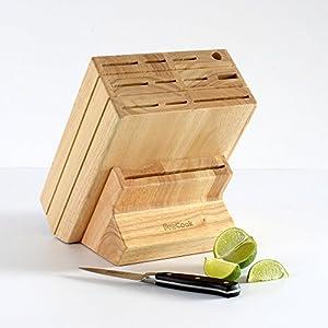ProCook Gourmet Rectangular Knife Block 15 Piece