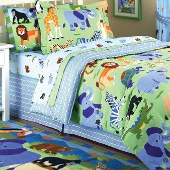 Olive Kids Wild Animals Comforter, Twin