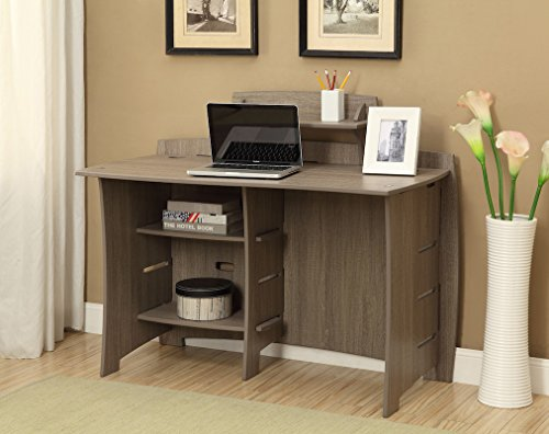 Legare Straight Desk - Gray Driftwood