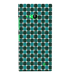 Fuson Premium Elephnat Pattern Design Printed Hard Plastic Back Case Cover for Nokia Lumia 730