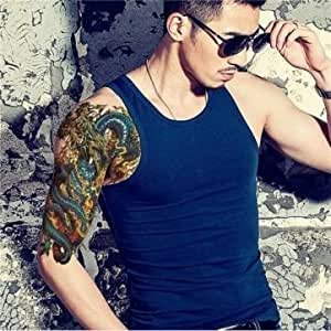 Fission Dragon Temporary Tattoos Waterproof Removable Tattoo Sticker Arm Leg Body Men Women