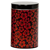 Red Blossom Canister