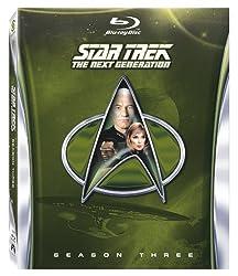 Star Trek: The Next Generation - Season Three [Blu-ray]