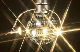 craftmade lk55l bn 3 light rotating disco ball light kit. Black Bedroom Furniture Sets. Home Design Ideas