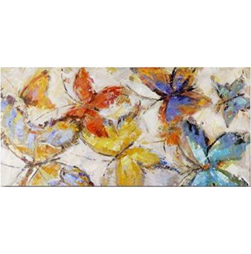 Mendola Art 218-FOPS1113 - Quadro dipinto a mano Play B, 60 x 120 cm