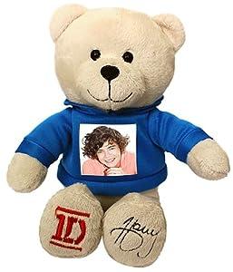 One Direction 52394-2 - Plüsch, 23 cm mit dem Foto von Harry auf dem T-Shirt