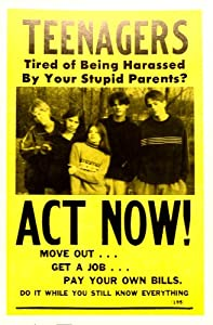 Teenagers Act Now Move Out Get A Job Pay