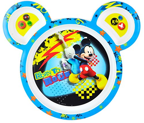 The First Years Mickey Mouse Toddler Plate front-581771