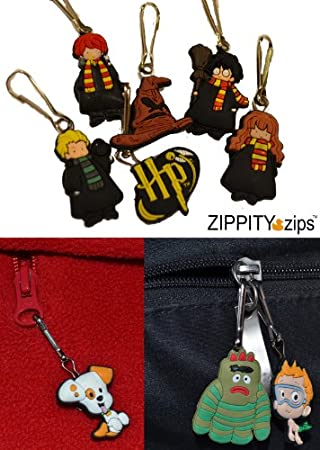 Harry Potter Zipper Pull Charms for Children's Jacket Backpack Bag Pendant