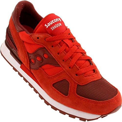 Saucony Originals Men's Shadow Original M Sneaker , Red/
