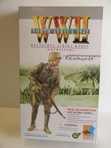 Dragon Ww Ii German 1/6 Scale Afrika Korps Figure
