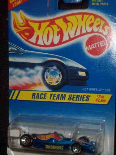 Race Team Series #2 Hot Wheels 500 Dark Blue 7-Spokes Mint #276 - 1