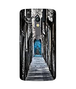 Blue Door Venice Motorola Moto X Play Printed Back Cover