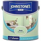 Johnstones No Ordinary Paint Water Based Interior Soft Sheen Emulsion Hosta 2.5 Litre