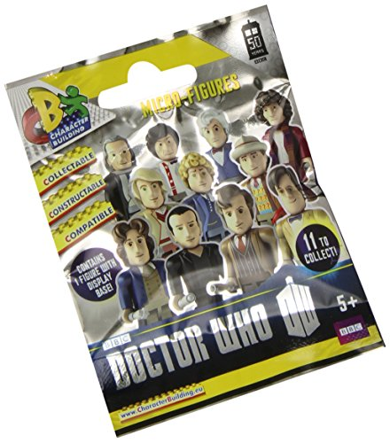Character Building Doctor Who 50th Anniversary Micro Blind Bag Figure - 1
