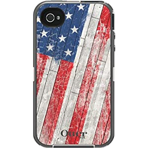Patriotic American Flag Old Glory Otter Box iPhone 4/4s case at amazon
