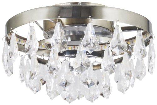 Ranex LED-Deckenleuchte aus Metall mit fest eingebauter LED-Leiste, 500 lm, warm weiß 6000.497