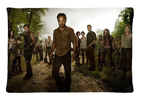 The Walking Dead Survival Instinct Pillowcase Design Standard Size 20x30