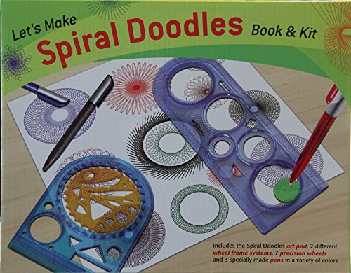 Let's Make Spiral Doodles Book & Kit - 1