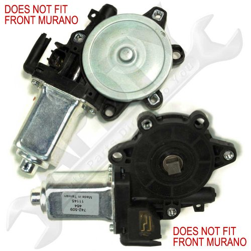 APDTY 853610 Power Window Lift Motor For Nissan Vehicles Left / Driver-Side (View Description For Front or Rear) (Replaces NIssan 80731-4Z305, 807318991A, 807318991D, 80731-EA005, 82731-3Z005, 827317Z805) (2005 Xterra Window Motor compare prices)