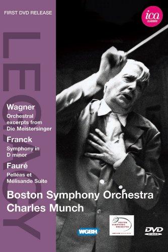 ワーグナー:楽劇「ニュルンベルクのマイスタージンガー」より第3幕の抜粋/フランク:交響曲 ニ短調 他 [DVD]
