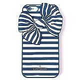 (ケイトスペード) katespade アウトレット iphone ケース WIRU0474 painterly stripe bow resin iphone 6/6s ケース リボンストライプ [並行輸入品]