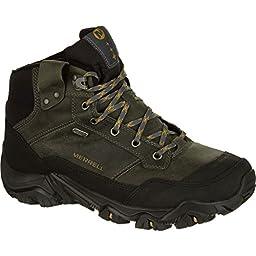 Merrell Men\'s Polarand Rove Waterproof Winter Boot, Castle Rock, 11 M US