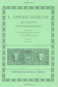Ad lucilium epistulae morales traduzione