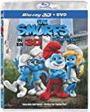 The Smurfs in 3D [Blu-ray 3D + DVD] (Bilingual)