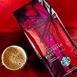 Starbucks Christmas Blend Espresso Roast, Complex & Caramelly Sweet whole beans(227g)