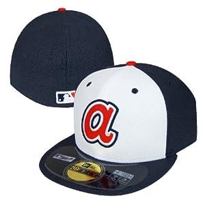 Atlanta Braves New Era MLB Diamond 59Fifty Hat 7 by New Era