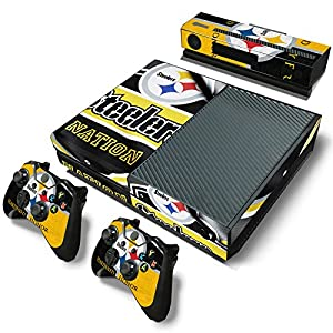FriendlyTomato Xbox One Console and Controller Skin Set  Steeler Mania