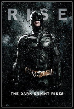 バットマン ダークナイト ライジング BATMAN THE DARK KNIGHT RISES Batman Rise ポスター フレームセット(120713)