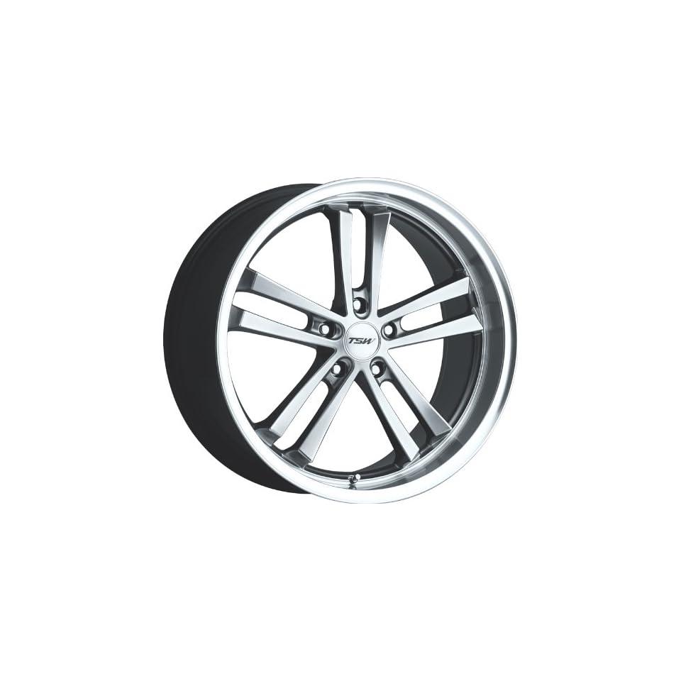 20x8.5 TSW Mondello (Hyper Black) Wheels/Rims 5x114.3 (2085MND205114B76)